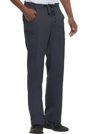 Blue Label for Men by Healing Hands Dylan Cargo Zip Fly Scrub Pant