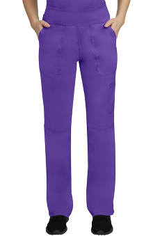 Purple Label by Healing Hands Women's Tori Yoga Scrub Pant