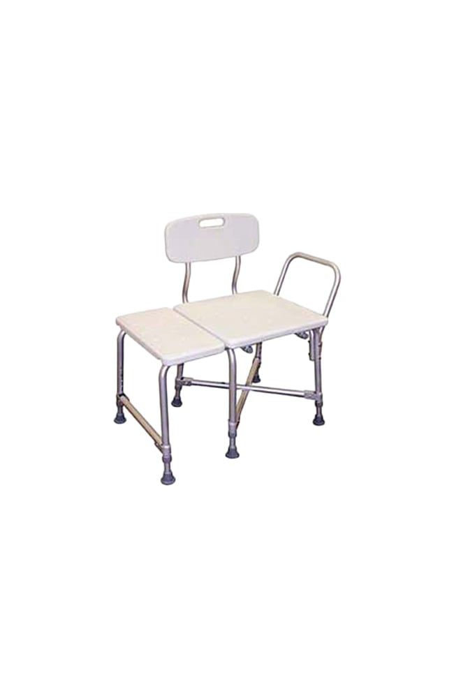 Drive Medical Deluxe Bariatric Transfer Bench with Cross Frame Brace