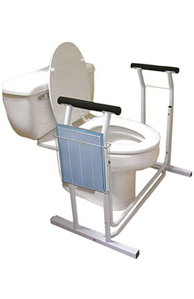 "Clearance Jobar Deluxe Safety Toilet Support 29½"" x 19"" x 26¼"""