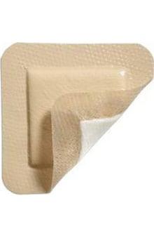 "Molnlycke Mepilex Border Lite Thin Foam Dressing 4"" x 4"" Box of 5"
