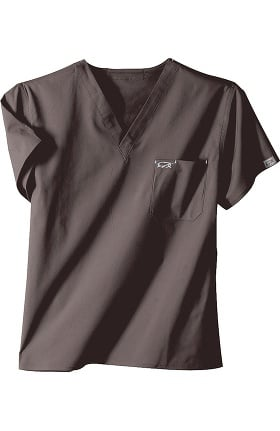 Clearance IguanaMed Unisex Stealth 1-Pocket Solid Scrub Top