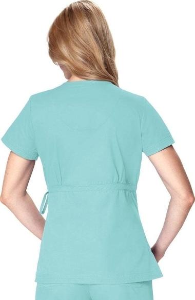 defdd4afe10 koi Women's Katelyn Wrap Solid Scrub Top | allheart.com