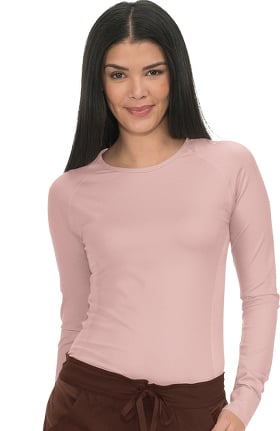 koi Lite Women's Divine Seamless Solid Long Sleeve T-Shirt