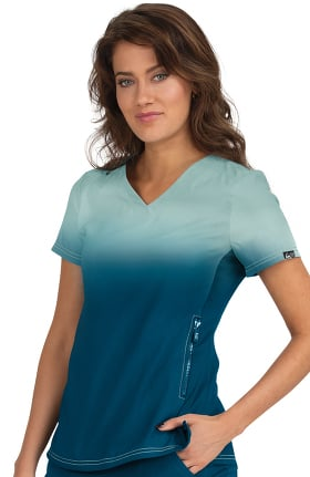 Clearance koi Lite Women's Limited Edition Reform Solid Scrub Top