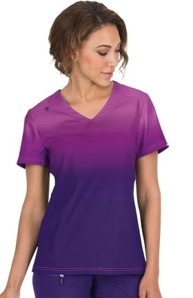 Clearance koi Lite Women's Reform V-Neck Ombre Scrub Top
