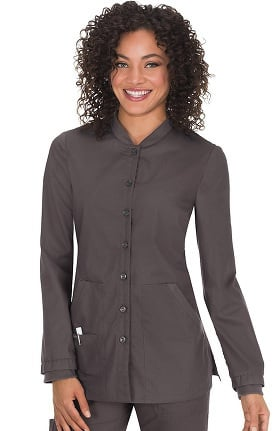 Clearance koi Classics Women's Callie Button Front Scrub Jacket