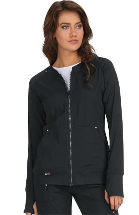 koi Lite Women's Limited Edition Clarity Solid Scrub Jacket