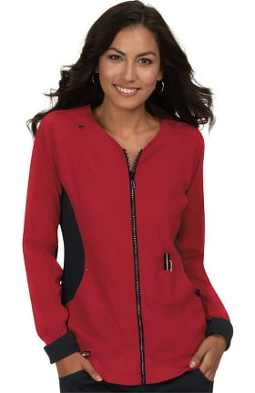 Clearance koi Lite Women's Limited Edition Clarity Solid Scrub Jacket