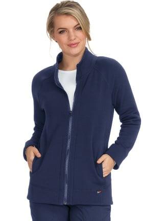 koi Lite Women's Wellness Solid Scrub Jacket