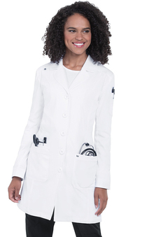 koi Next Gen Women's Button Down Everyday Lab Coat