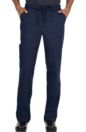 koi Stretch Men's Ryan Stretch Zip Fly Drawstring Scrub Pant