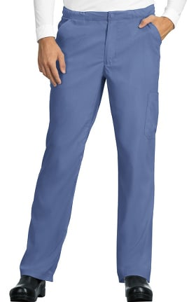 koi Lite Men's Discovery Zip Fly Slim Fit Scrub Pant