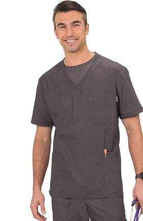 Clearance koi Classics Men's Oliver V-Neck Solid Scrub Top