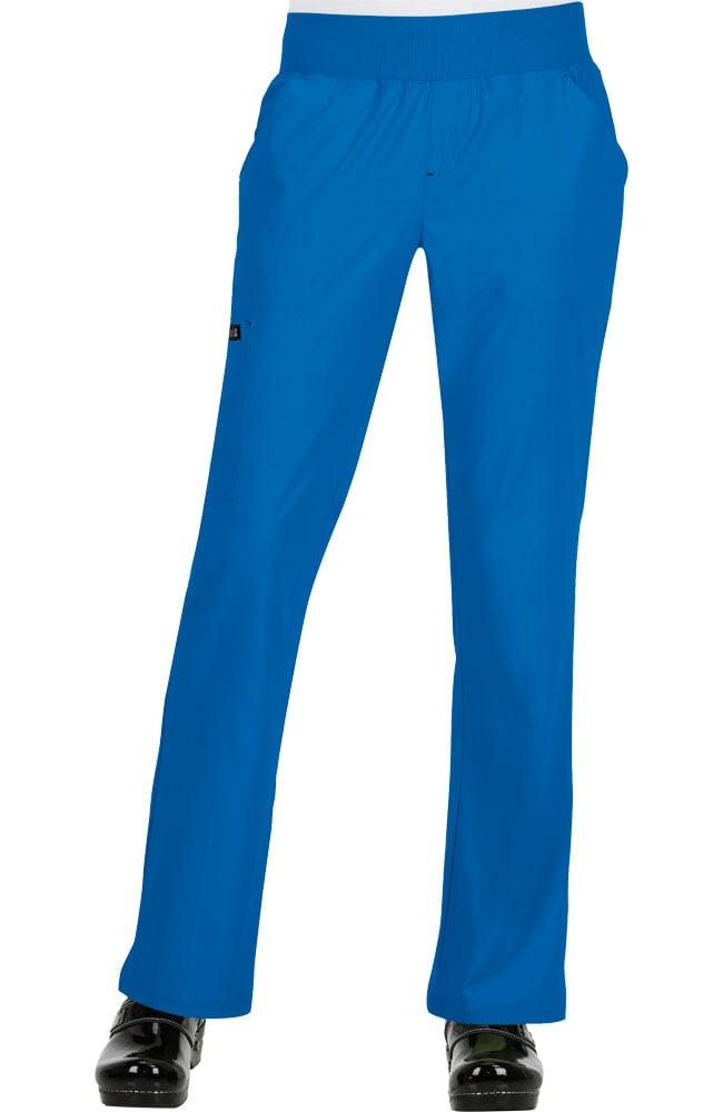 42f4a31158a koi Basics Women's Laurie Flare Leg Knit Waist Yoga Scrub Pant