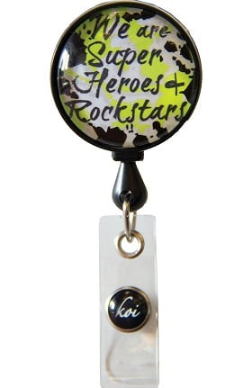 Clearance koi Accessories Women's Retractable ID Badge Reel