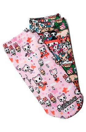 koi by tokidoki Women's No-Show Character Print Socks 2 Pack