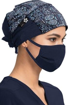 koi by tokidoki Women's Batik Bandana Print Scrub Hat