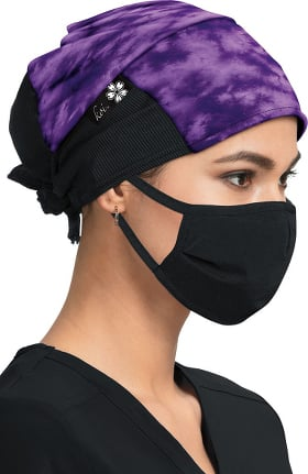 koi by tokidoki Women's Shiborhi Grape Print Scrub Hat