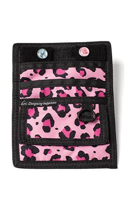 koi Accessories Women's Cheetah Print Pocket Organizer