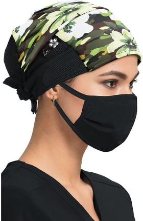 koi Accessories Women's Camouflage Brook Print Scrub Hat