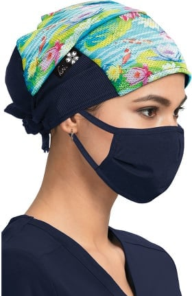 koi Accessories Women's Koi Pond Print Scrub Hat