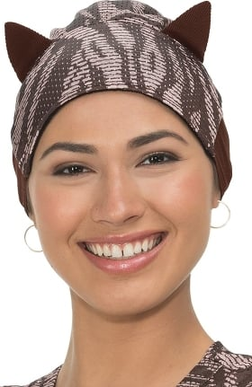 koi Accessories Women's Cat Ears Surgical Scrub Hat