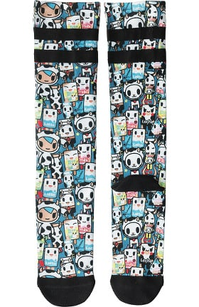 koi by Tokidoki Unisex 8-15 mmHg Compression Socks