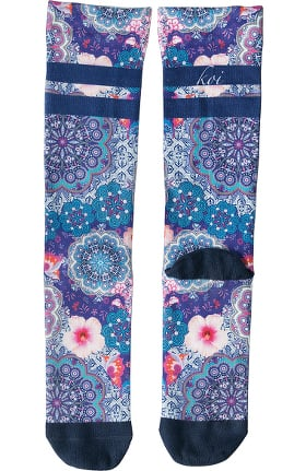 koi Accessories Women's Sublimation 8-15 mmHg Compression Socks