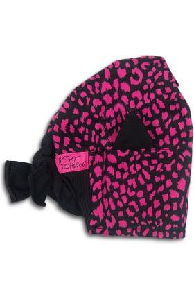 koi Betsey Johnson by koi Women's Animal Print Scrub Hat