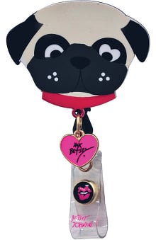 Betsey Johnson by koi Women's Retractable Badge Reel