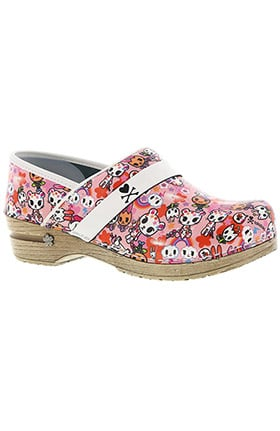 koi by Sanita Women's Kadienne Printed Patent Professional Clog