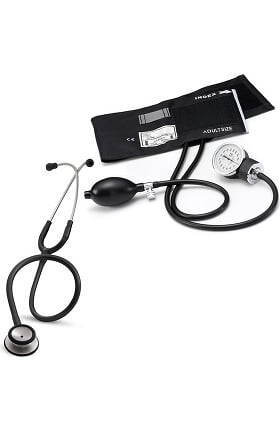 3M Littmann Classic II SE Stethoscope with Prestige Medical Basics Sphygmomanometer Kit