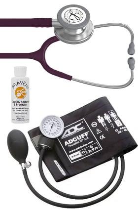 3M Littmann Classic III Stethoscope, ADC Phosphyg Sphygmomanometer & Praveni Kit