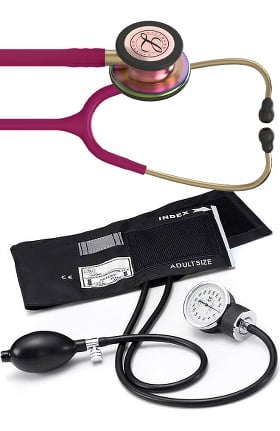 Stethoscope and Blood Pressure Cuffs - Manual Blood Pressure Kit