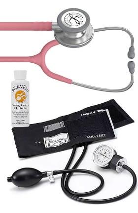 3M Littmann Classic III Stethoscope, Prestige Sphygmomanometer & Praveni Kit