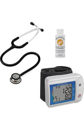 3M Littmann Classic III™, Veridian Healthcare Digital Blood Pressure Monitor and Praveni Cleaning Kit