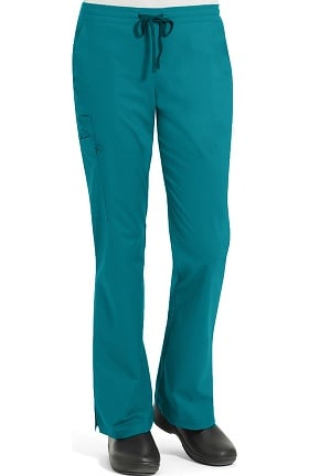 Clearance Work Flow by Landau Unisex Drawstring Cargo Scrub Pant