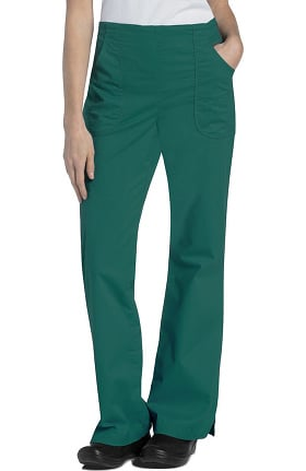 Clearance Pre-Washed by Landau Women's Flat Front Cargo Scrub Pant