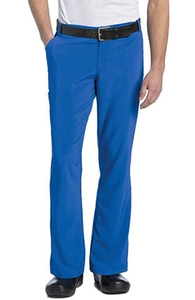 Landau Men's Zip Fly Cargo Scrub Pant