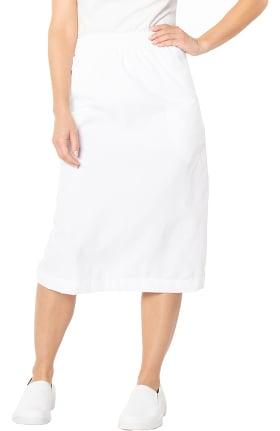 Landau Women's A-Line Solid Scrub Skirt