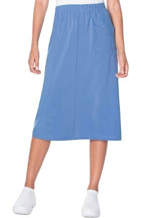 ProFlex by Landau Women's Modern A-Line Elastic Waist Scrub Skirt