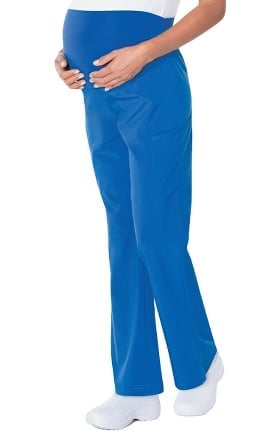 ProFlex by Landau Women's Maternity Boot Cut Cargo Scrub Pant