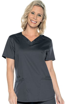 ProFlex by Landau Women's Fashion Solid Scrub Top