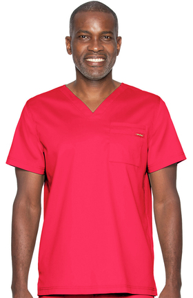 ProFlex by Landau Men's Solid Scrub Top