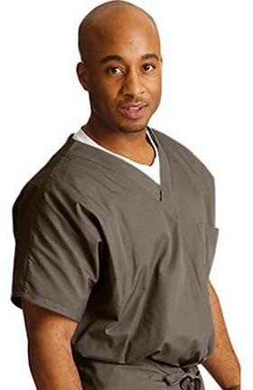 Clearance ScrubZone by Landau Unisex  Solid Scrub Top