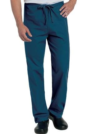Landau Unisex Classic Fit Reversible Drawstring Scrub Pants