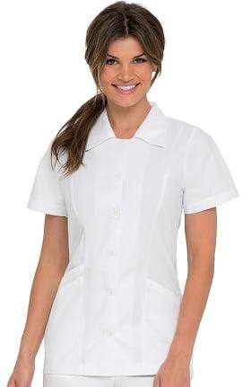 Clearance Landau Women's Student Tunic Solid Scrub Top