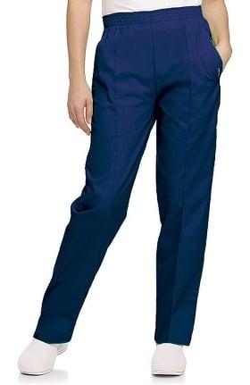 Clearance Landau Women's Classic Fit Elastic Waist Scrub Pants