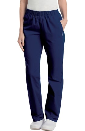 Clearance Landau Women's Eased Classic Fit with Elastic Waist Scrub Pants